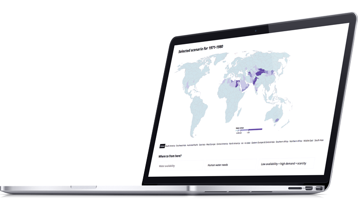 Water scarcity futures tool - Water Scarcity Atlas - Water